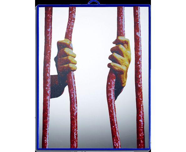 Miroir Toilet Paper - Prison 17,5x23cm