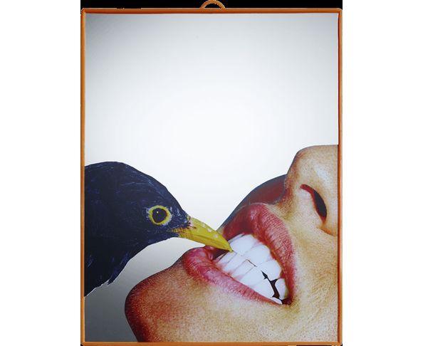 Miroir Toilet Paper - Corneille 22,5x29,5cm