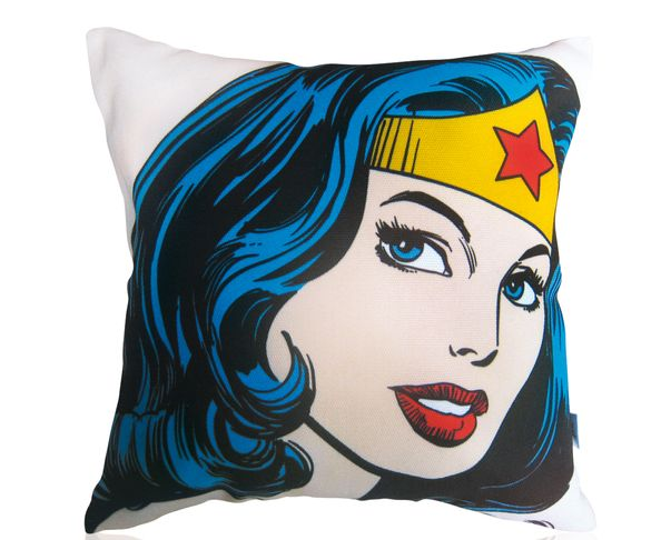 Coussin - Wonderwoman 2 - Téo Jasmin 40 x 40 cm