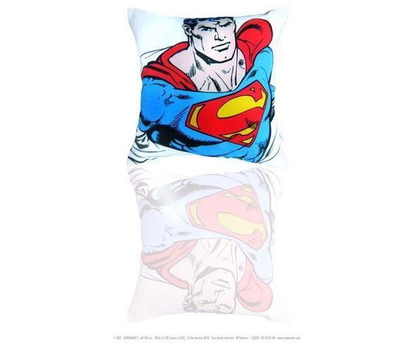 Coussin 60/60 cm Superman 2 - Téo Jasmin