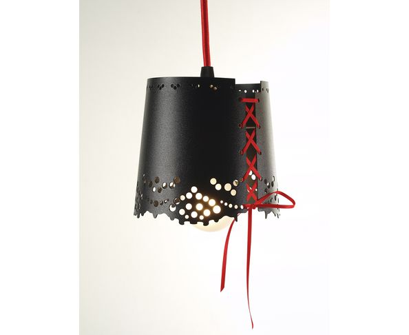 Suspension - lustre Little Lace Noire de Pulpo