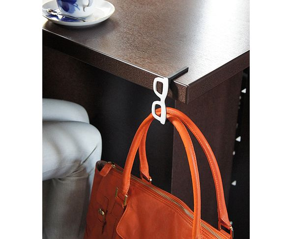 Accroche sac Lunette orange - Hachiman