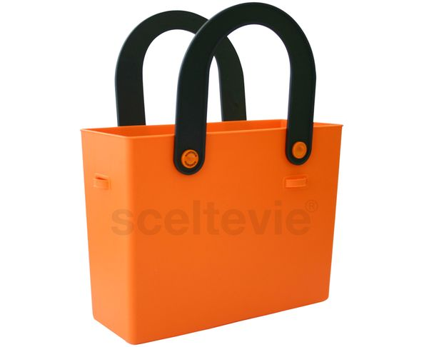 Sac en silicone orange flashy - Hachiman