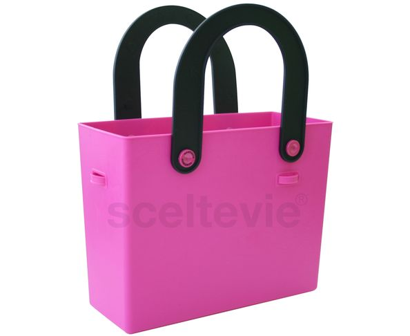 Sac en silicone rose flashy - Hachiman