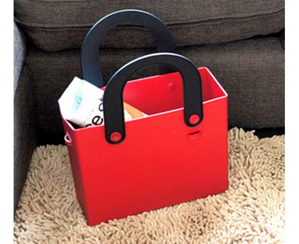 Sac en silicone rouge flashy - Hachiman