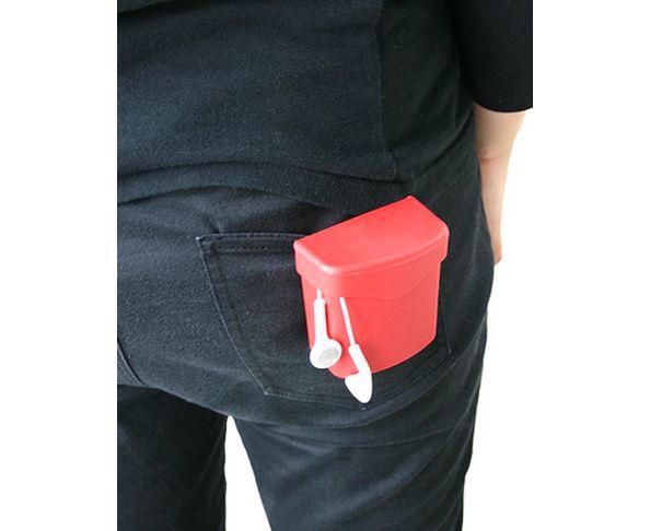 Clip Poche rouge taille S - Hachiman