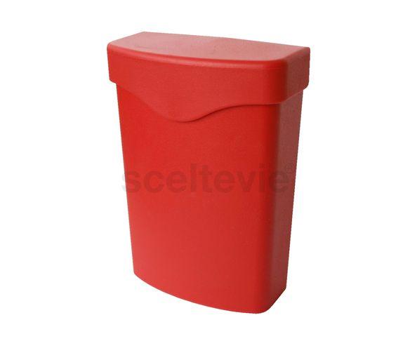 Clip Poche rouge taille L - Hachiman