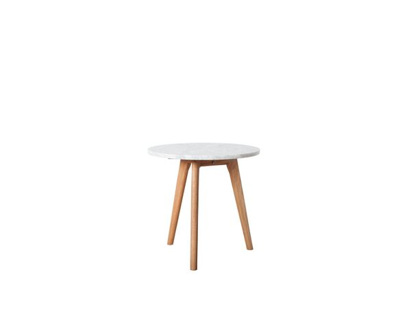 Table Basse Stone Blanche M