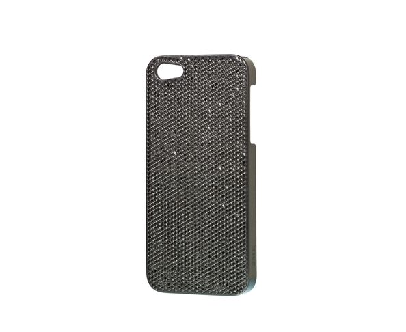 Coque iPhone5 Swarovski - TOTAL BLACK - 2ME STYLE