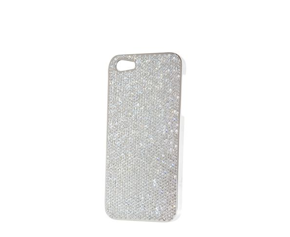 Coque iPhone5 Swarovski - SILVER - 2ME STYLE