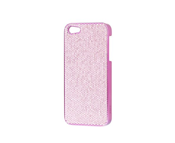 Coque iPhone5 Swarovski - PINK - 2ME STYLE