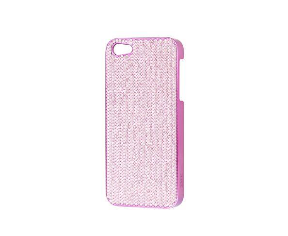 Coque iPhone5 Swarovski - PINK - 2ME STYLE