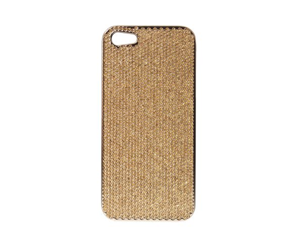 Coque iPhone5 Swarovski - BRONZE - 2ME STYLE