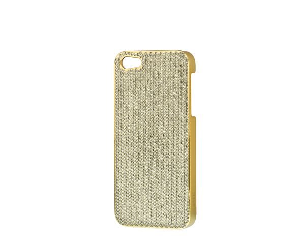 Coque iPhone5 Swarovski - GOLD - 2ME STYLE
