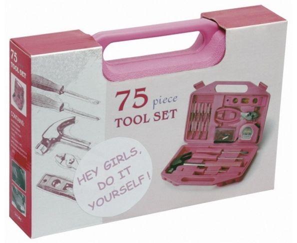 Boîte à outils pour Mademoiselle 75 pièces