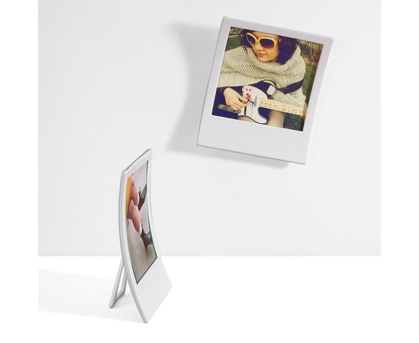 Cadre photo Polaroïd Blanc - Lot de 2