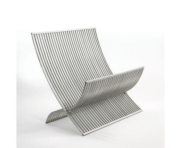 Porte magazine en aluminium Vogue - Vogue Magazine Rack Aluminium