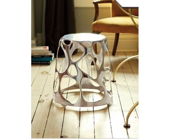 Tabouret Aluminium poli - Karim Rashid