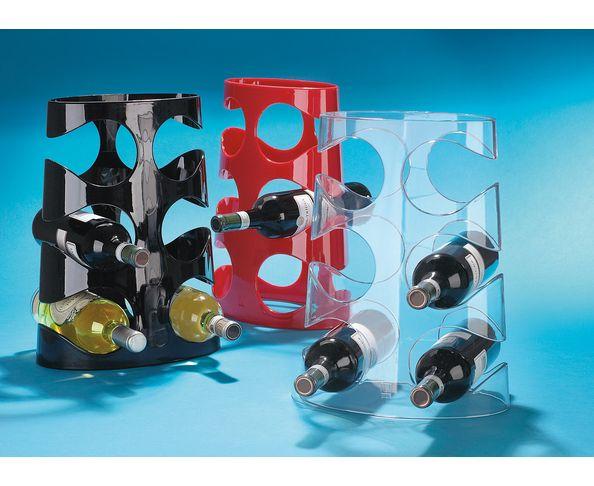 Rack à bouteilles cristal