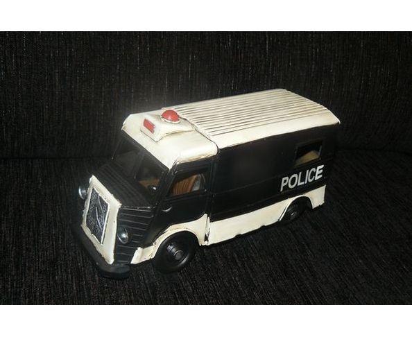 Tube - Camion de Police - Jouet en métal