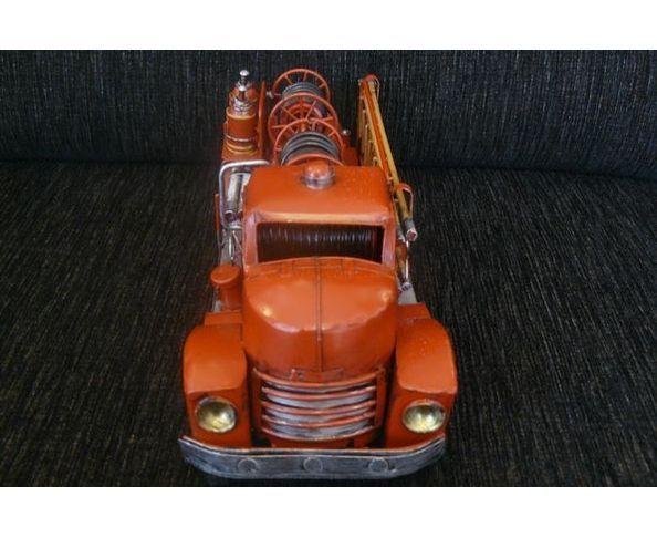 Camion pompier - jouet en métal