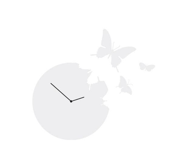 Horloge Butterfly Blanche - Diamantini & Domeniconi