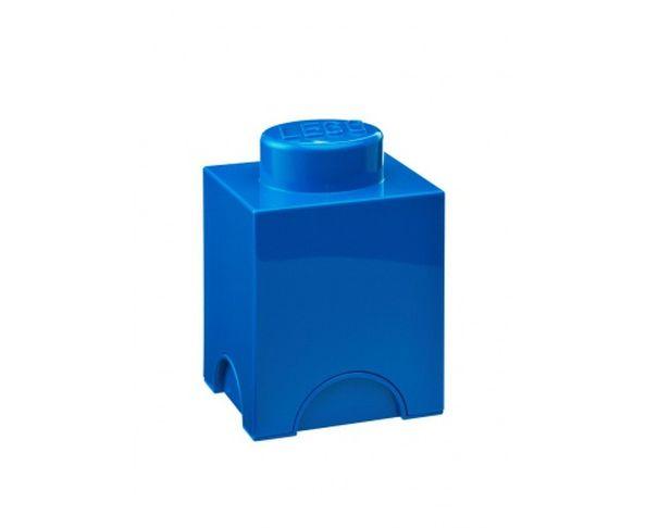 Boite Lego bleu 1 plot