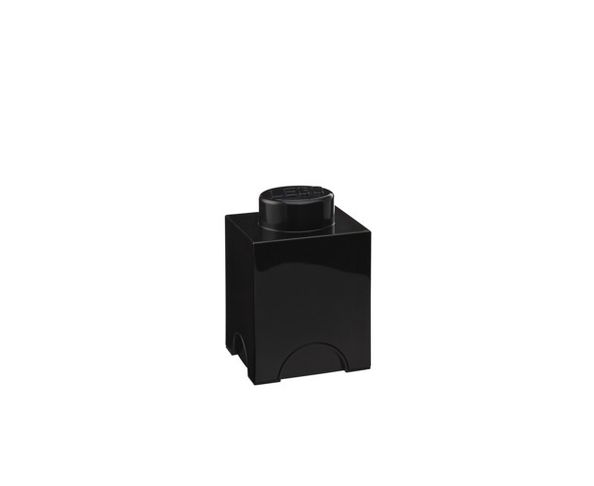 Boite Lego noir rangement 1 plot