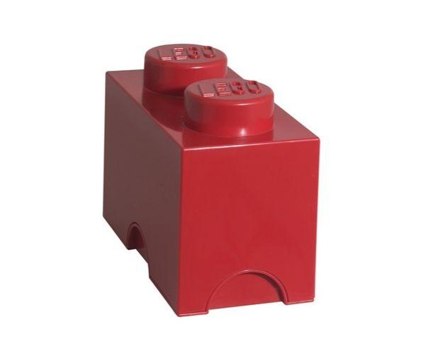 Boite Lego Rouge 2 plots
