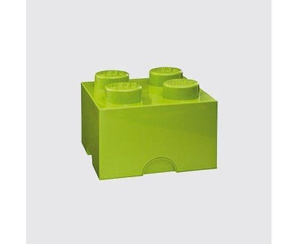 Boite Lego Vert clair 4 plots