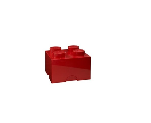 Boite Lego Rouge 4 plots
