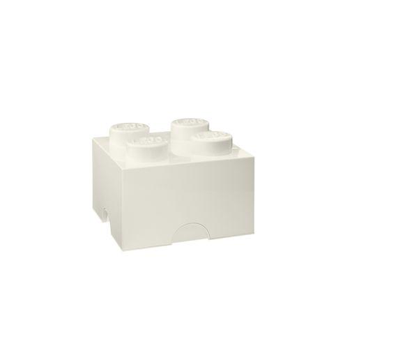 Boite Lego Blanc 4 plots