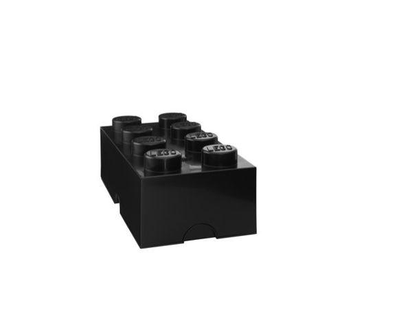 Boite Lego  Noir rangement 8 plots