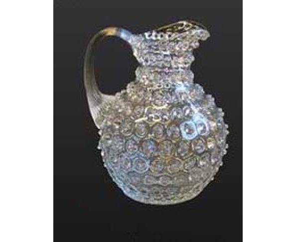 Pichet pointe de diamant en verre Chehoma