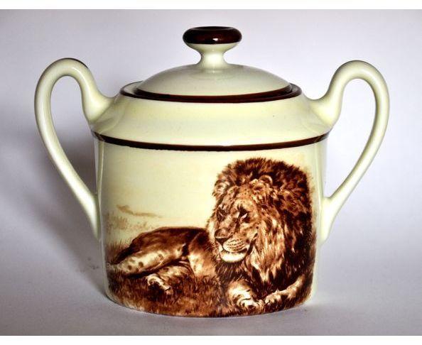Sucrier porcelaine Kenya Maison de Famille