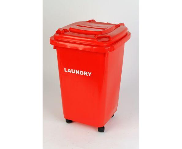 Panier à linge Laundry Poubelle Rouge