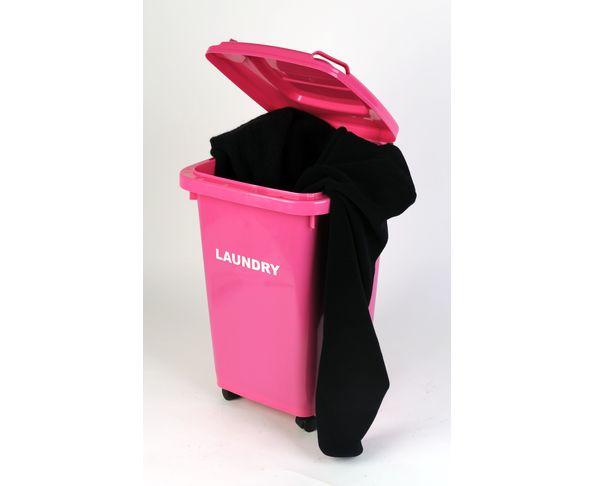 Panier à linge Laundry Poubelle Rose