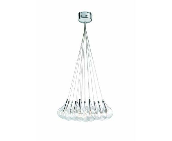 Lustre Drop 19 ampoules 10W - Almalight