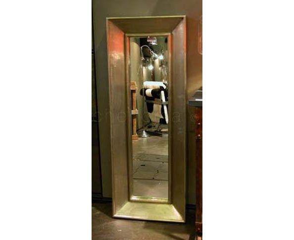 Miroir 47x125 en feuille d'étain - Chehoma