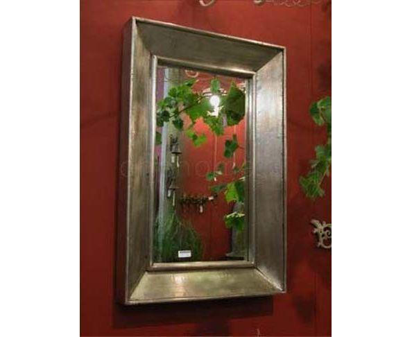 Miroir 91x 61 en feuille d'étain - Chehoma