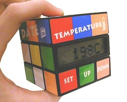 Réveil Rubikscube