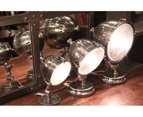 Lampe Silverstone Diam 17 cm - Chehoma