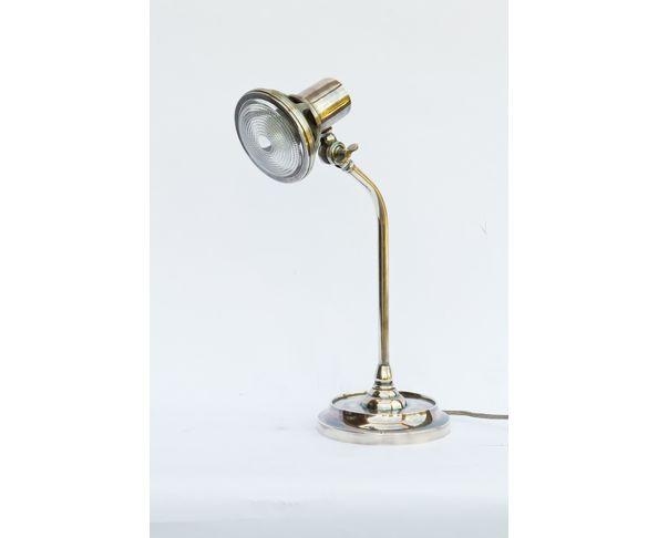 Lampe de bureau Denon en nickel - Chehoma