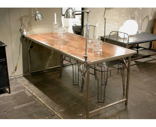 Table de cuisine pliante murale table cuisine pliant - Table pliable bois ...