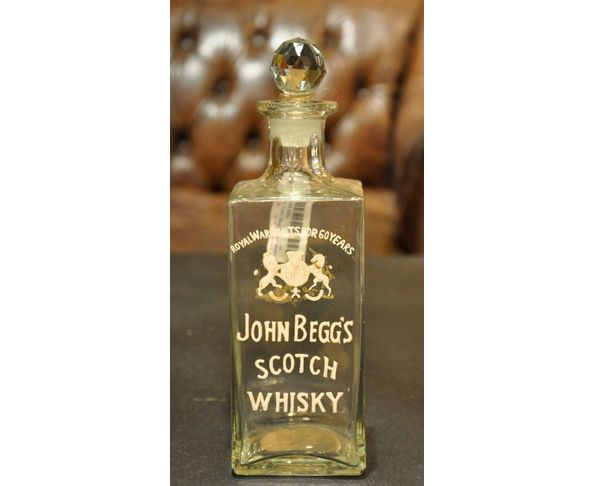 Carafe John Begg's scotch whisky - Chehoma
