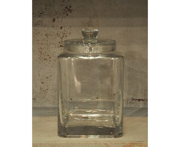 Bonbonnière en verre carré - Chehoma
