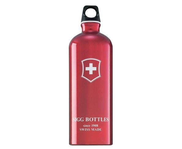 Gourde Swiss Cross Red Touch 1.0 l