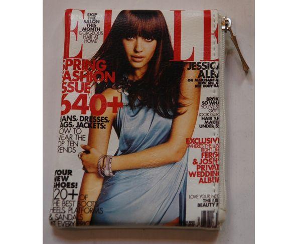 Porte monnaie magazine ELLE