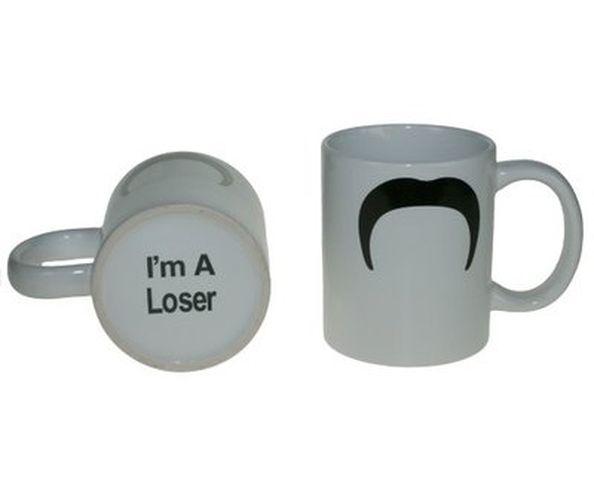 Mug Moustache I'm a Loser - Mo Bro Mug