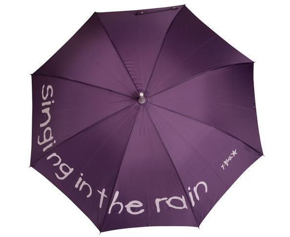 "Parapluie ""Singing in the rain"" Violet"